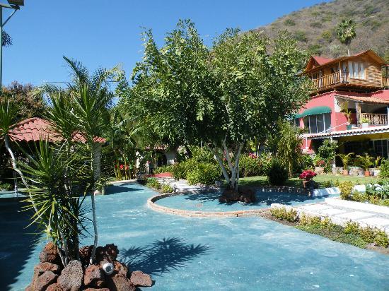 Casa de la Abuela: part of the garden