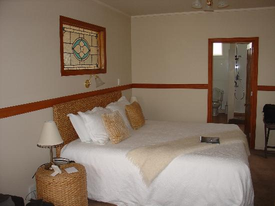 """Waipoua Lodge : La chambre de la suite """"Stables"""""""