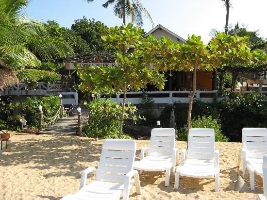 Lanta Il Mare Beach Resort : zweite Hängebrücke vom Hotel zum Strand