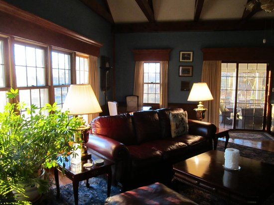 Eighth Pole Inn: The Great Room on the main house's lower level is available to all guests.