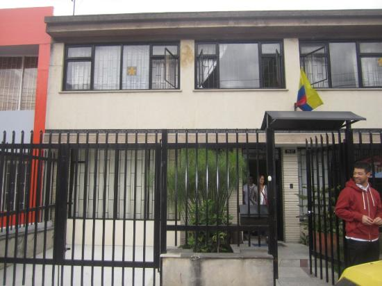 Los Andes Hostel: entrada