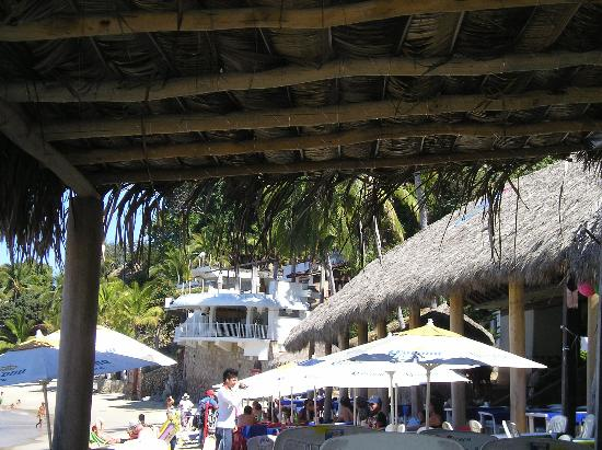 Playa Las Animas: A view from the resturant north