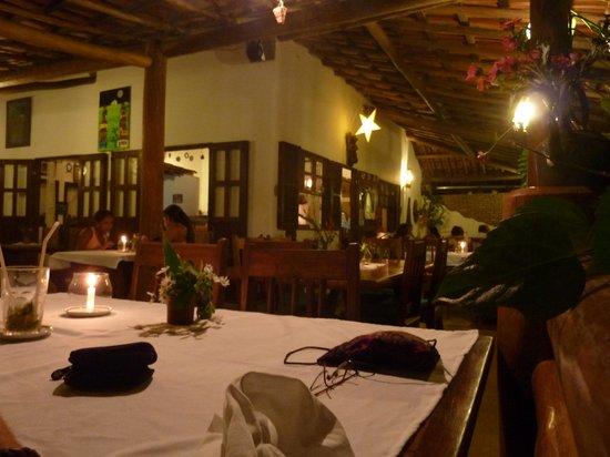 Rosa dos Ventos: View of the outdoor seats