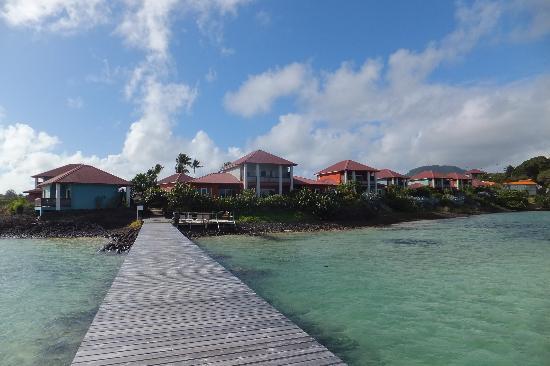 Le Cap Est Lagoon Resort & Spa: Resort
