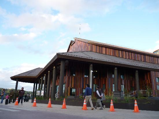 Lago Llanquihue: teatro del Lago.Frutillar