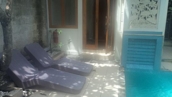 Kuta Lagoon Resort & Pool Villa: pool villa