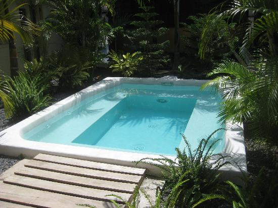 Hotel El Club: Jacuzzi (cold)