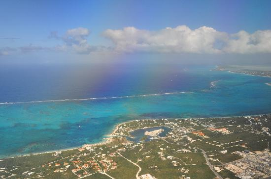 Grace Bay from up in the air!