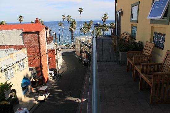 The Avalon Hotel: Balcony view of room 302