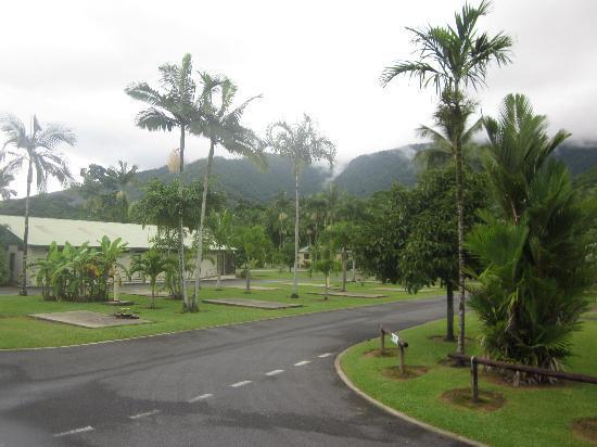 BIG4 Cairns Crystal Cascades Holiday Park : Park Grounds