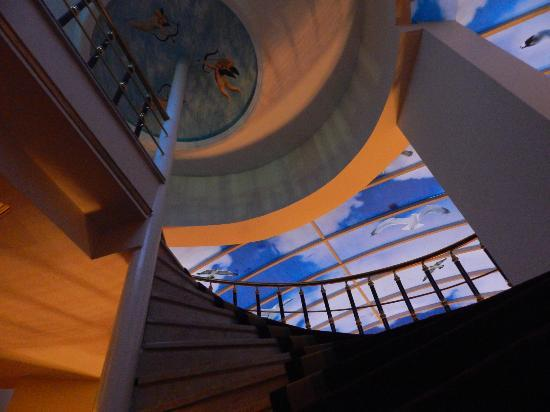 Best Western Antea Palace Hotel & Spa: Hotel staircase