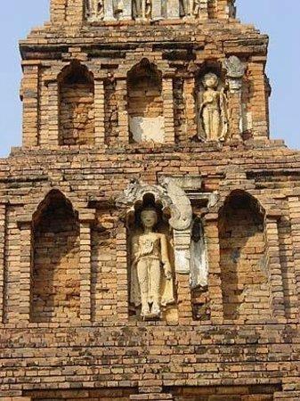 Wat Kukut: Kukut's Mon Style Chedi