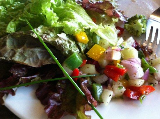 Monsoon: salads from buffet