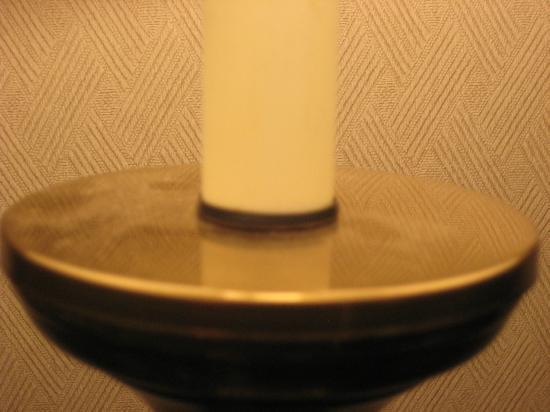 Holiday Inn Budd Lake-Rockaway Area: dusty lamp
