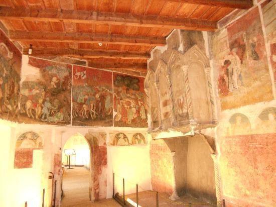 Castel Roncolo - Schloss Runkelstein: CASTEL RONCOLO -BZ- particolare affreschi