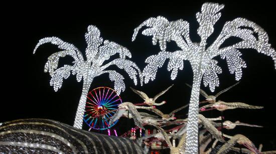 Shah Alam, Malaysia: I-City, ferris wheel at the back