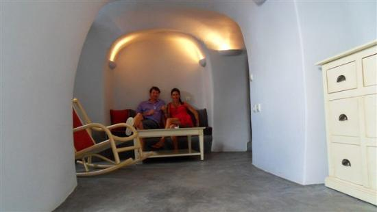 Andronis Luxury Suites: our cave