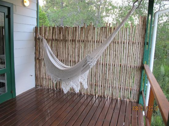 Armagh Country Lodge Rafters & Spa: the hammock
