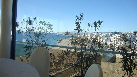 Poseidon Athens Hotel: The view from the Restaurant on the 7th floor