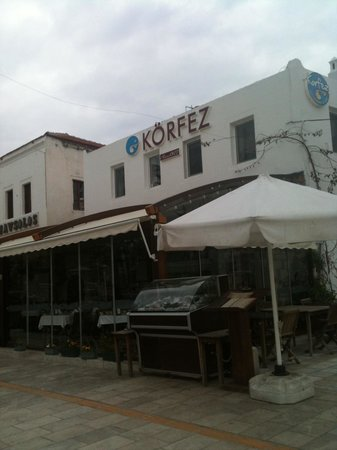 Korfez Restaurant: winterized