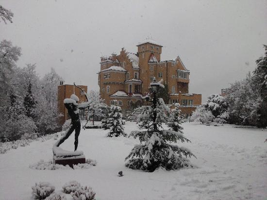 Hotel Schloss Monchstein: ein Wintertraum