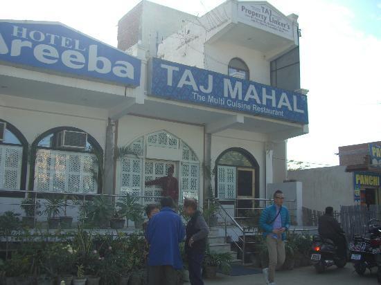 Taj Mahal Restaurant: お店の外観