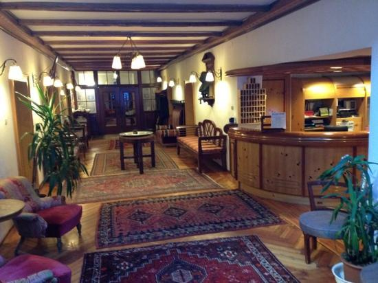 Parkhotel Sole Paradiso: hall dell'hotel