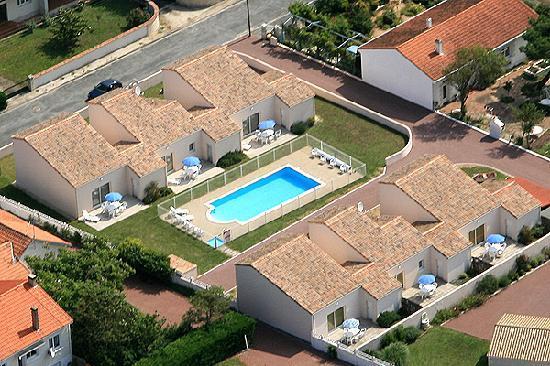 Residence Les Tremieres: Vue aérienne de la Résidence Les Trémières - Marennes Oléron