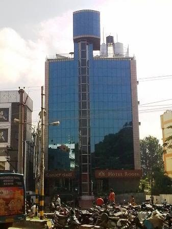 Hotel Roopa from the opposite road