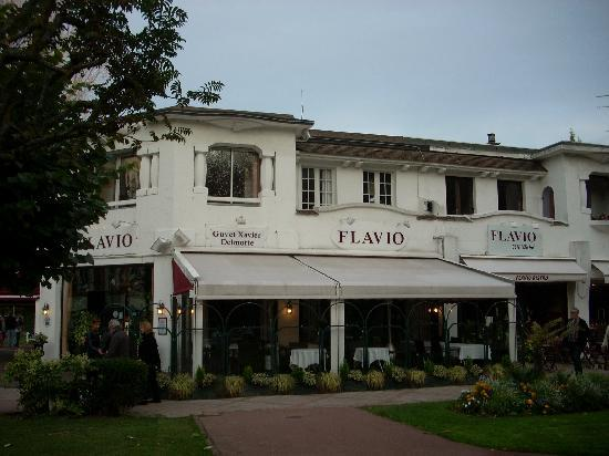 Le restaurant photo de flavio le club de la foret le for Restaurant le jardin touquet