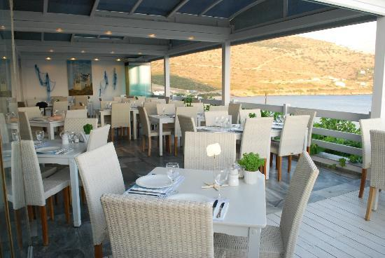 Cyclades Restaurant: the restaurant