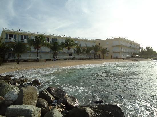 Residence Anse des Sables: La résidence vue de la mer