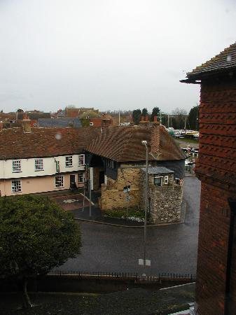 The Bell Hotel: Another view towards the river