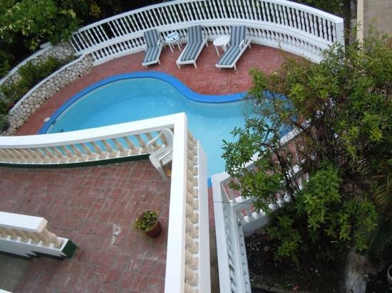 Match Resort Hotel: piscina veduta dalla terrazza della camera
