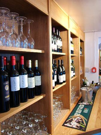The Plough Inn Appleton: Behind the bar