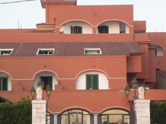 Hotel Costa d'Oro : albergo