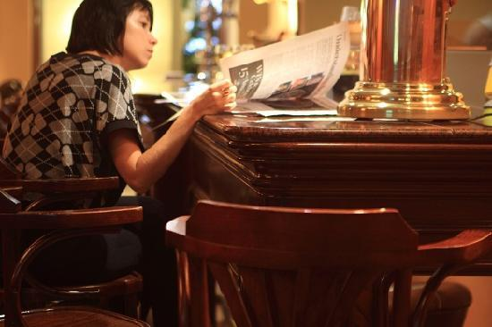 Penny Black Bar : Lunch time at the Penny Black