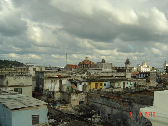 Hotel Palacio O'Farrill: view from the roof top