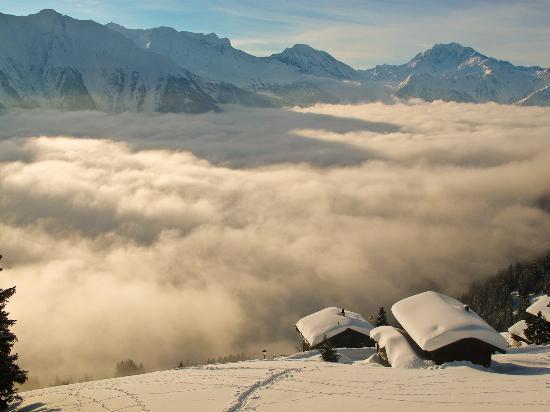 Aletsch Glacier: Blick Riederalp Richtung Simplon