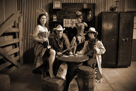Old Fashioned Photo Studio Fotograf 237 A De Texas Cowboy