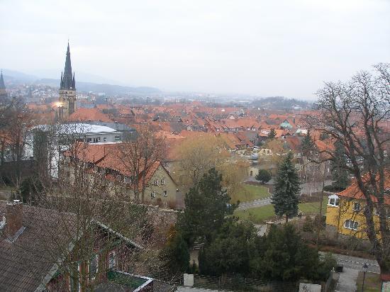 Schlossberg-Hotel: Ausblick