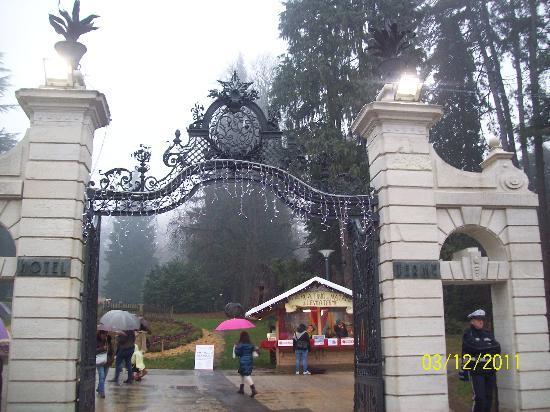 Levico Terme, Italy: cancello ingresso