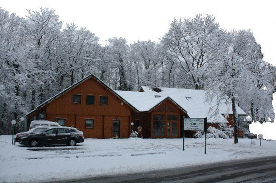 Hôtel La Maison d'Hôtes : la Maison d'Hôtes en hiver