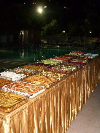 turkish night mezze