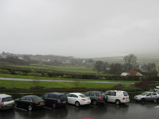 Ballyliffin Lodge & Spa Hotel: Rather cloudy January view from bedroom
