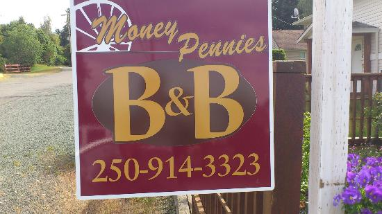 Money Pennies B&B: Can't miss it...