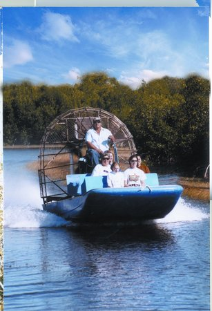 Capt Mitch's - Everglades Private Airboat Tours: have fun