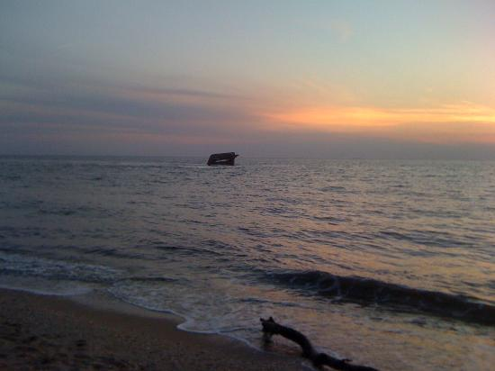 Inn of Cape May : Remains of S.S. Atlantis concrete ship