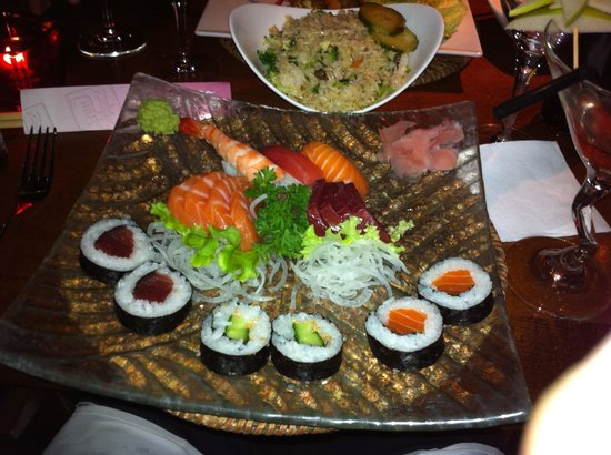 Asian: varietes de sushis