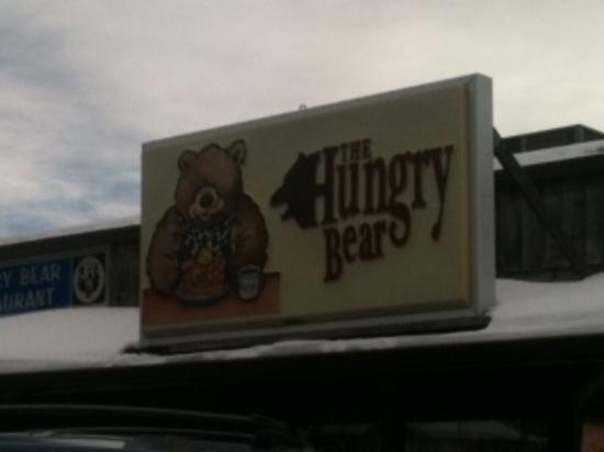 Hungry Bear Restaurant: outside of the restaurant